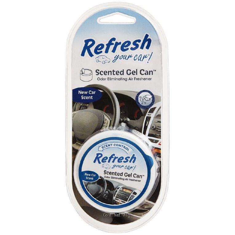Refresh Your Car Gel Cannister New Car 71g, , hi-res