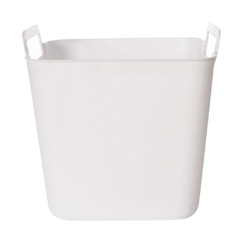 Living & Co Flexi Tub Square White 3L, , hi-res