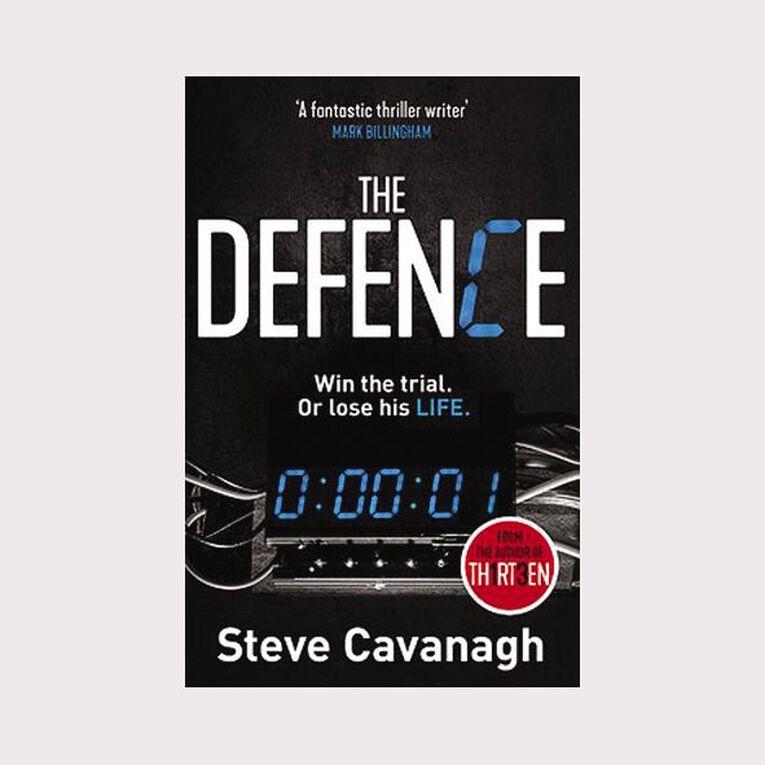 Defence by Steve Cavanagh, , hi-res