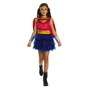 Wonder Woman Childs Costume Size 4-6