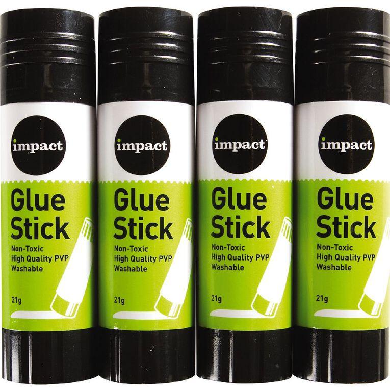 WS Glue Stick 21g 4 Pack, , hi-res