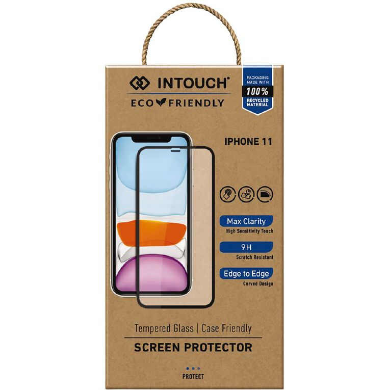 In Touch iPhone 11 Glass Screen Protector Clear, , hi-res image number null