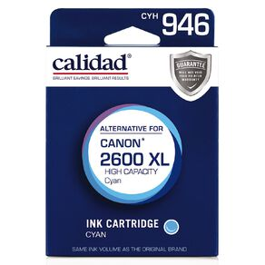 Calidad Canon PGI-2600XL Cyan
