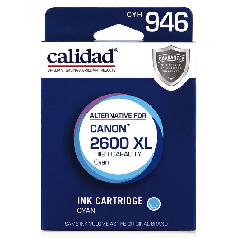 Calidad Canon PGI-2600XL Cyan, , hi-res