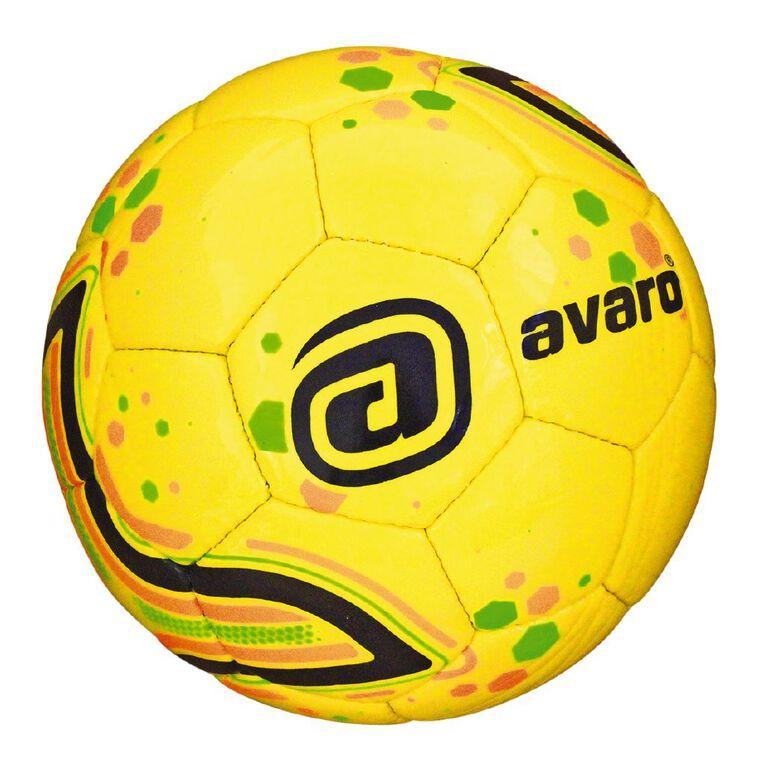 Avaro Soccer Multi-Coloured Size 5, Multi-Coloured, hi-res