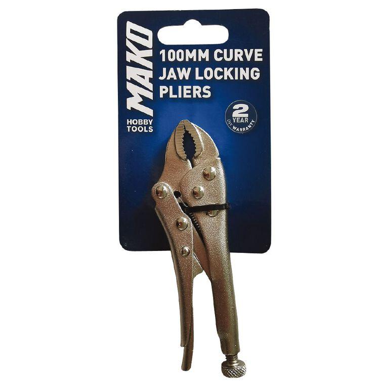 Mako 100mm Mini Curve Jaw Lock Ht, , hi-res