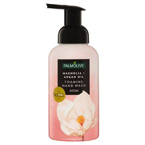 Palmolive Foaming Hand Wash Pump Magnolia & Argan Oil 400ml