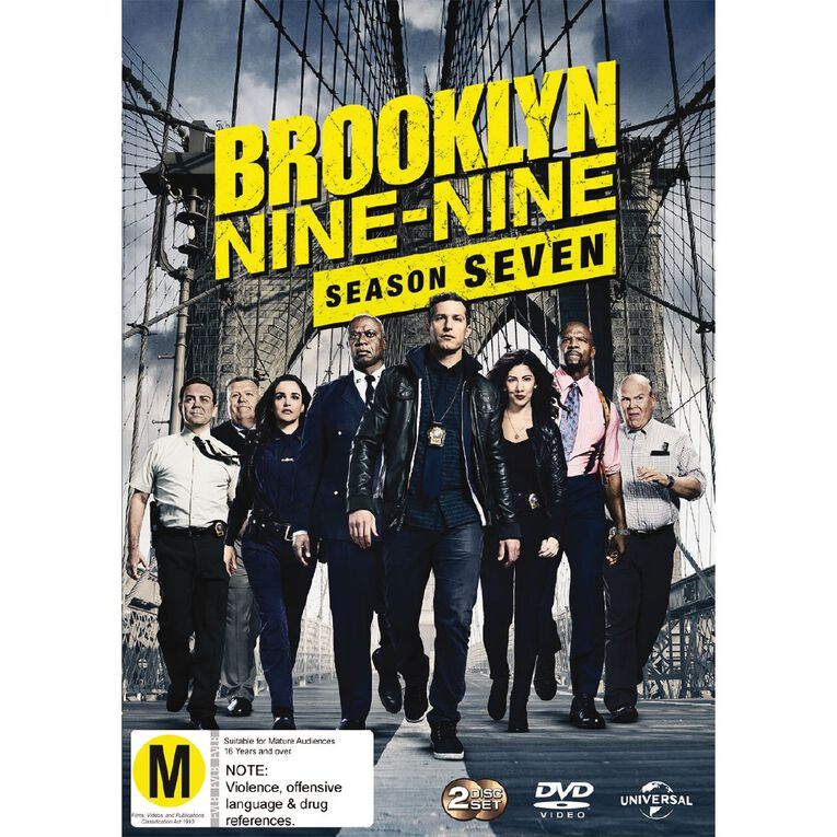 Brooklyn Nine-Nine Season 7 DVD 3Disc, , hi-res