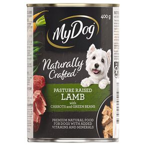 My Dog Wet Dog Food Pasture Raised Lamb with Carrots and Green Beans400g