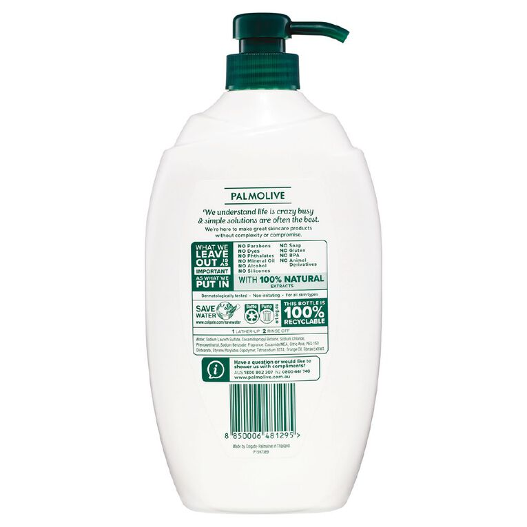 Palmolive Body Wash Mild & Sensitive 1L, , hi-res