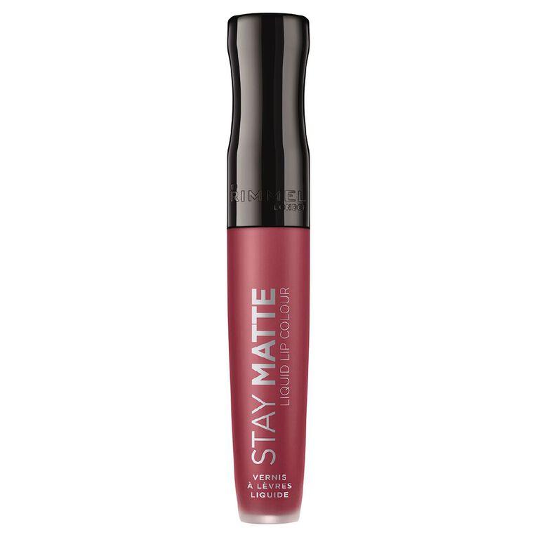 Rimmel Stay Matte Liquid Lip Colour #210 Rose & Shine, , hi-res