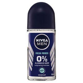 Nivea Men Alu Free Roll On Deodorant Fresh Power 50ml