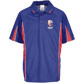 Schooltex Frankton Short Sleeve Polo with Embroidery