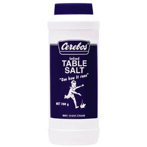 Cerebos Salt Iodised Drum 700g