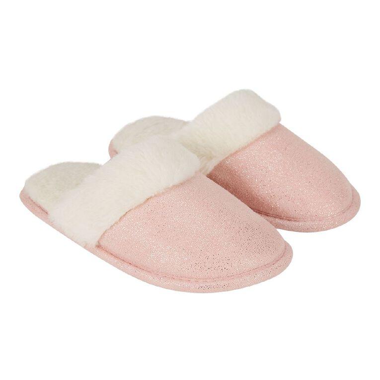 Young Original Girls' Shine Slipper, Pink, hi-res