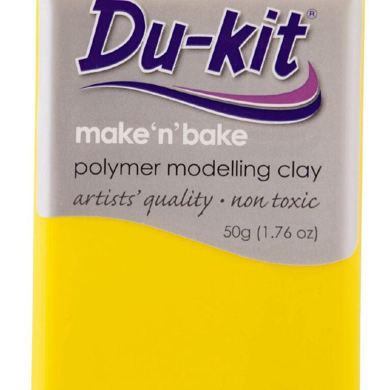 Du-kit Clay Light Yellow 50g, , hi-res
