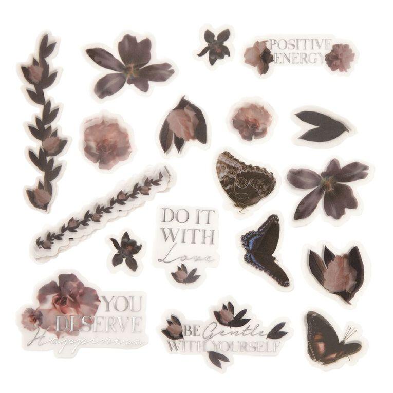 Uniti Floral Nights Vellum Die Cut Shapes, , hi-res