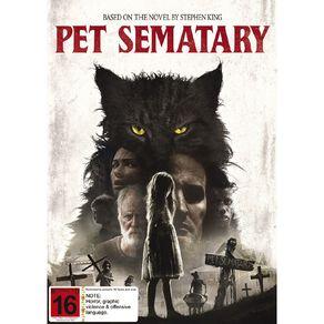 Pet Semetary (2019) DVD 1Disc
