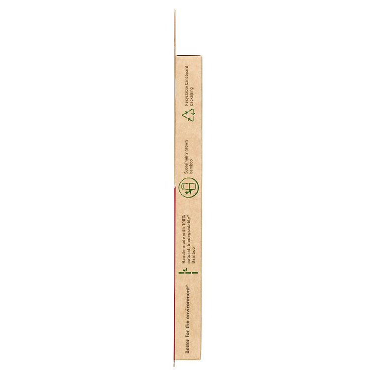 Colgate Bamboo Toothbrush Medium 2 Pack, , hi-res