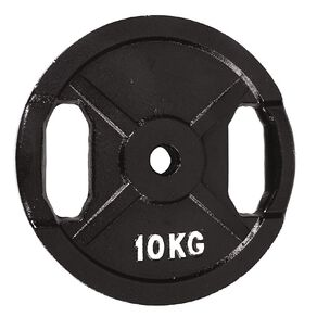 Active Intent Fitness Cast Iron Weight 10kg