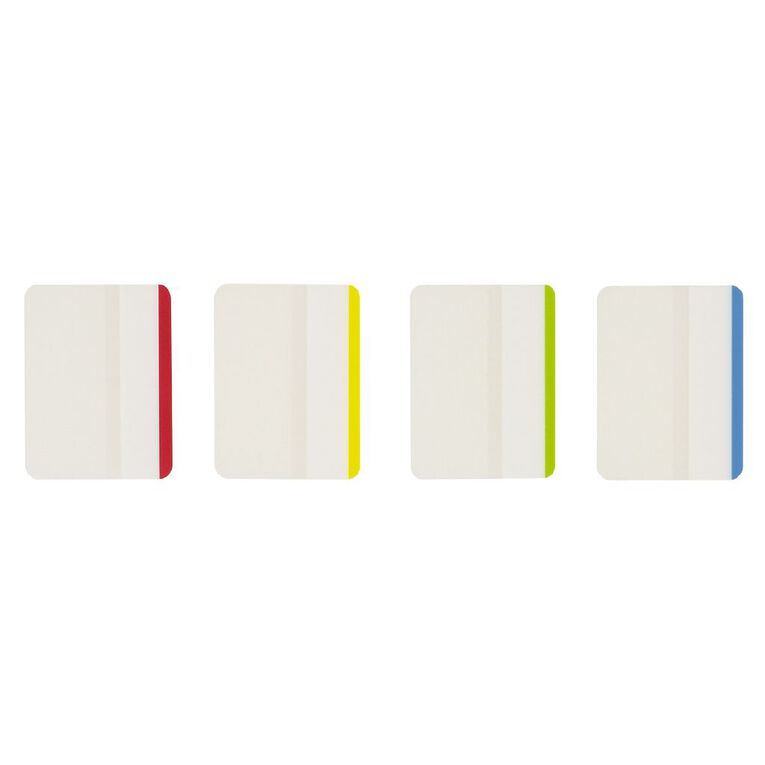 WS Coloured Sticky Tabs 38mm x 50mm 6 Sheet 4 Pack, , hi-res