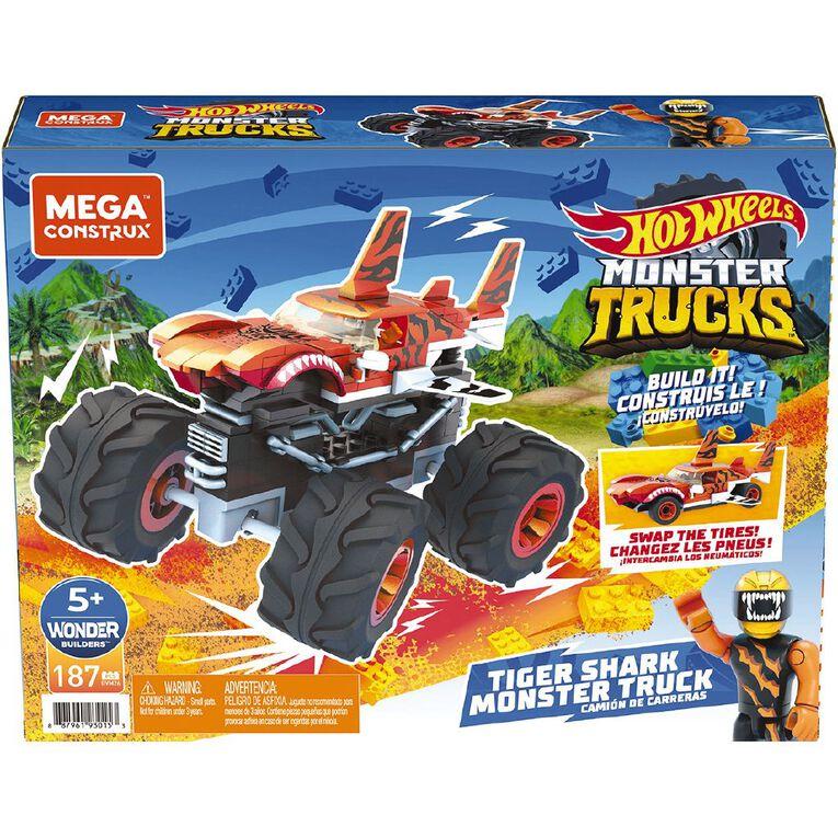 Hot Wheels Mega Construx Monster Truck Assorted, , hi-res