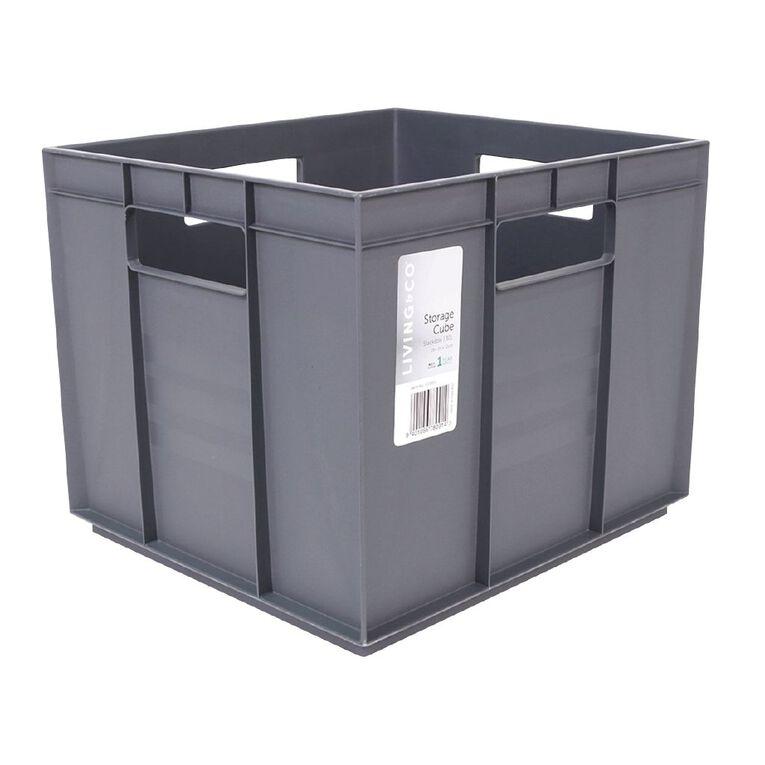 Living & Co Storage Cube Assorted 30L, , hi-res