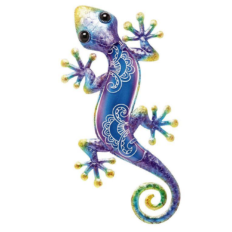 Kiwi Garden Wall Art Lizard 38.5cm Assorted, , hi-res