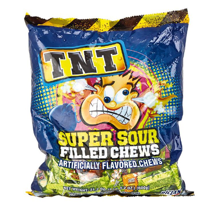 TNT Sour Chews 600g, , hi-res