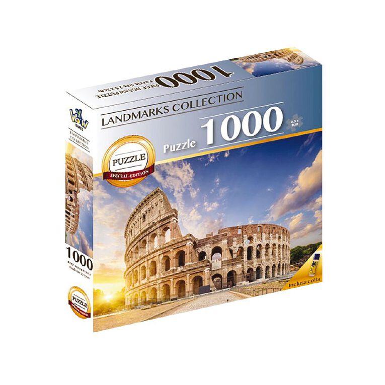 Landmarks Puzzle 1000 Piece Assorted, , hi-res