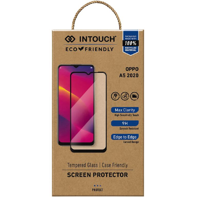 INTOUCH Oppo A5 (2020) Glass Screen Protector Clear, , hi-res