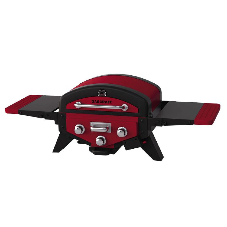 Gascraft Tailgate 3 Burner Grill with Smoker, , hi-res