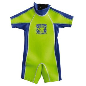 Body Glove Kids Rash Suit Green Size 4