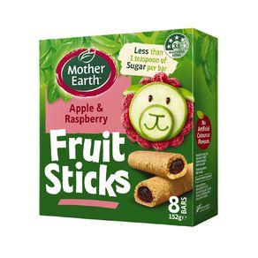 Mother Earth Fruit Sticks Raspberry 152g