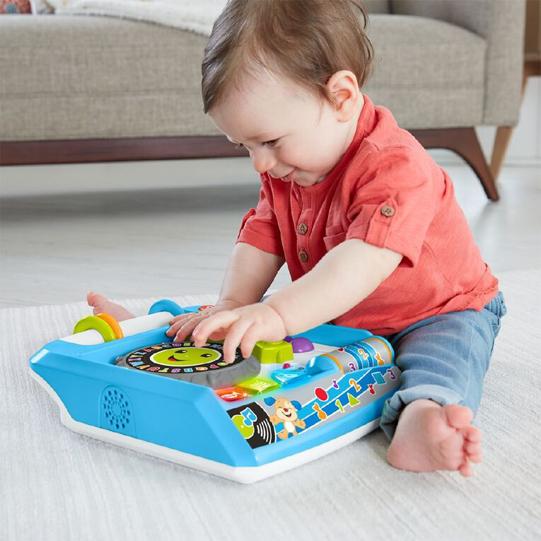 Fisher-Price Laugh & Learn Retro Remix Record Player, , hi-res