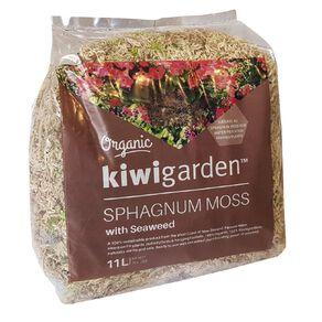 Kiwi Garden Sphagnum Moss With Seaweed 11L