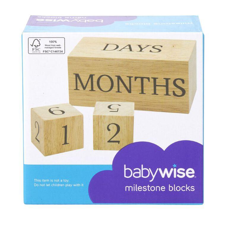 Babywise Milestone Blocks, , hi-res