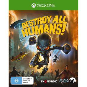XboxOne Destroy All Humans