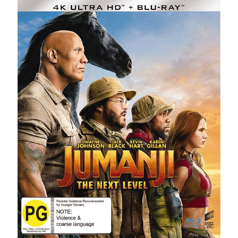 Jumanji The Next Level 4K Blu-ray 2Disc, , hi-res