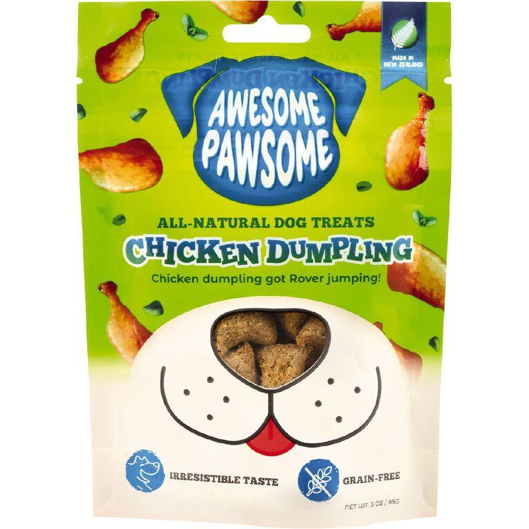 Awesome Pawsome Chicken Dumpling 85g, , hi-res