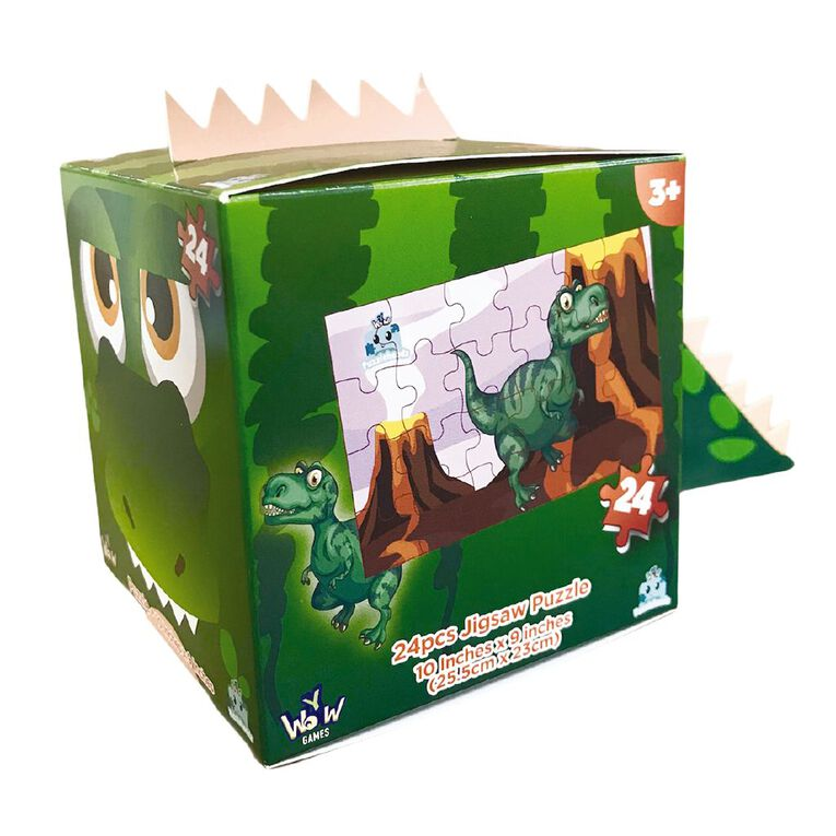Puzzleheads Dino 24 Piece Puzzles Assorted, , hi-res