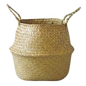 Living & Co Seagrass Belly Basket Natural