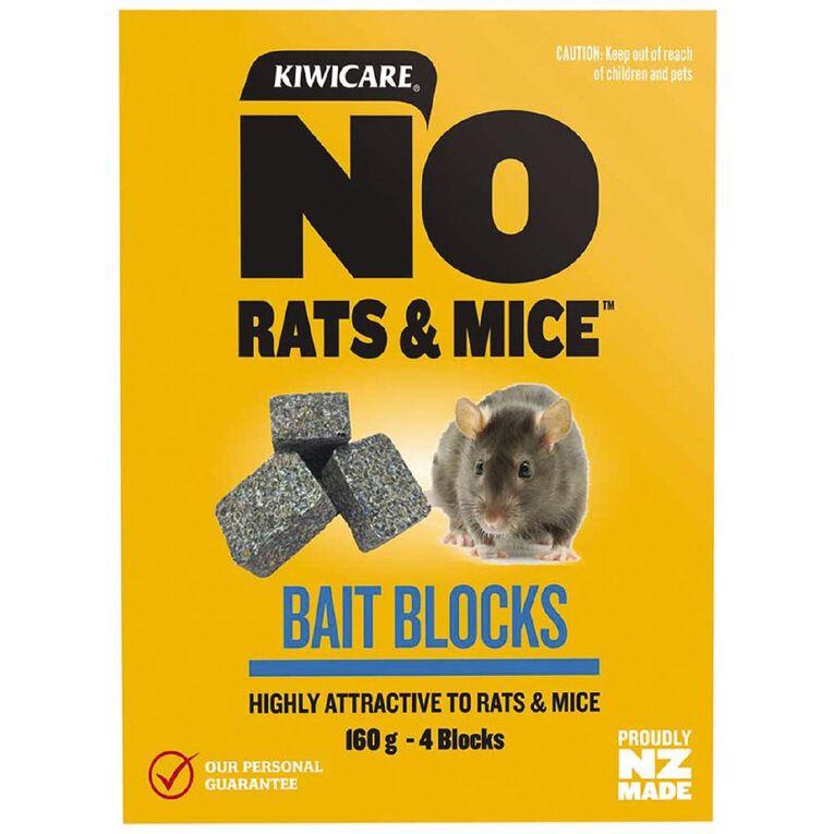 Kiwicare NO Rats & Mice Weatherproof Bait 160g, , hi-res