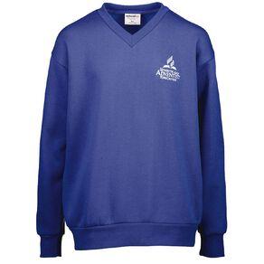 Schooltex SDA V-Neck Sweatshirt with Embroidery