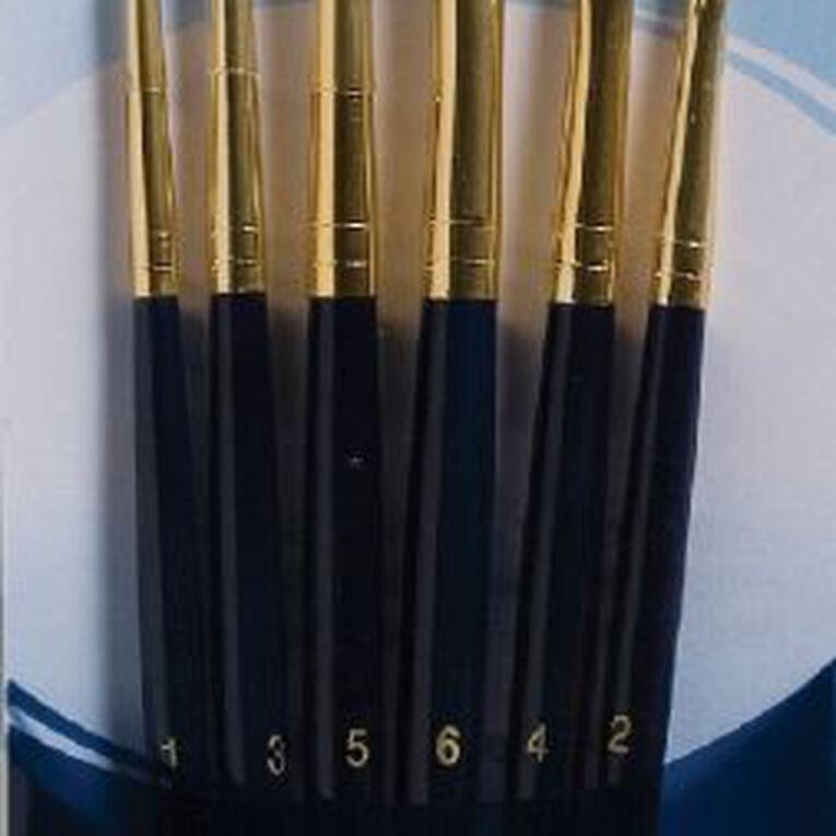 Princeton Brush Gold Taklon Round 1 3 5 Gold, , hi-res