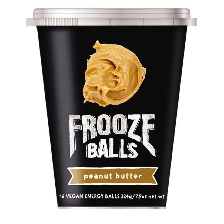 Frooze Balls Pottle Peanut Butter 224g, , hi-res