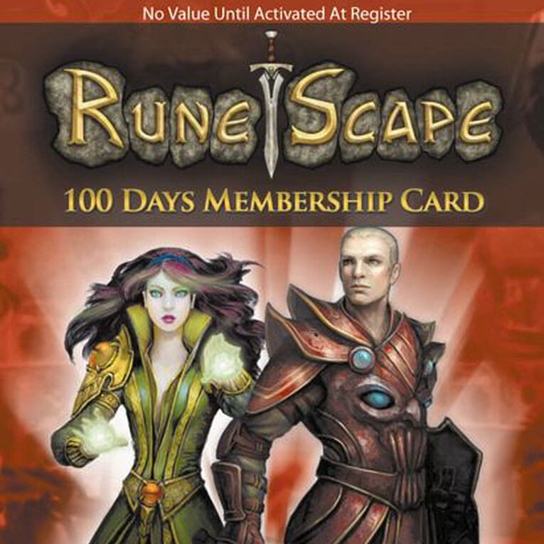 Runescape 100 Days Membership Card, , hi-res image number null