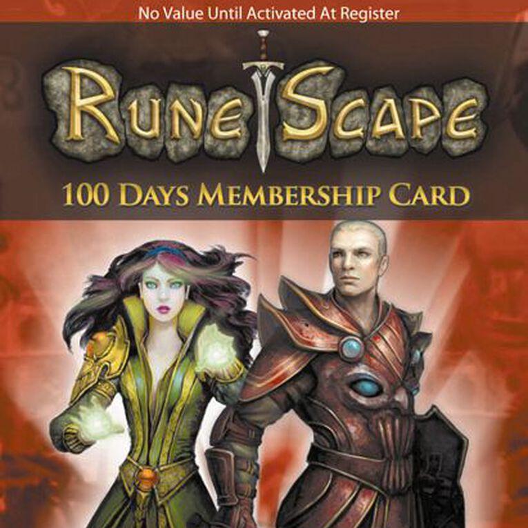 Runescape 100 Days Membership Card, , hi-res