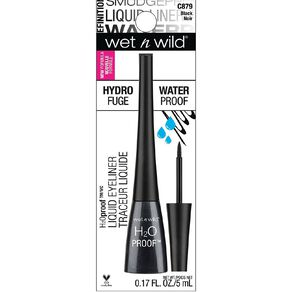 Wet n Wild H2O Proof Felt Tip Liquid Eyeliner Black