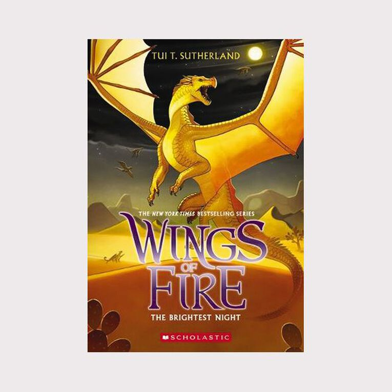 Wings of Fire #5 Brightest Night by Tui T Sutherland, , hi-res